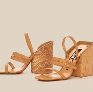 Handcrafted open toe sandals