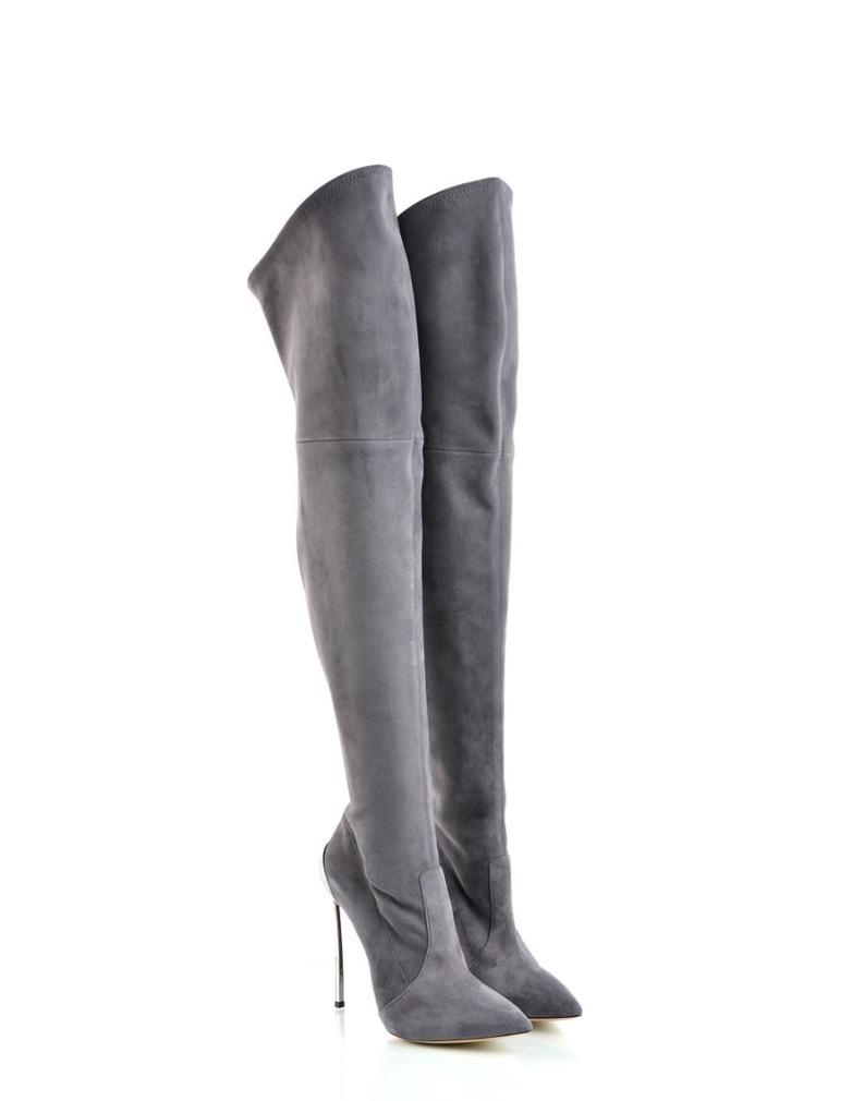 Casadei Gray Ladies High Heels