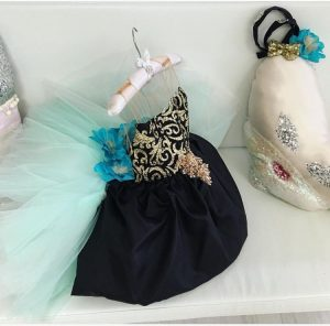 Sophisticated elegant and provocative kids couture