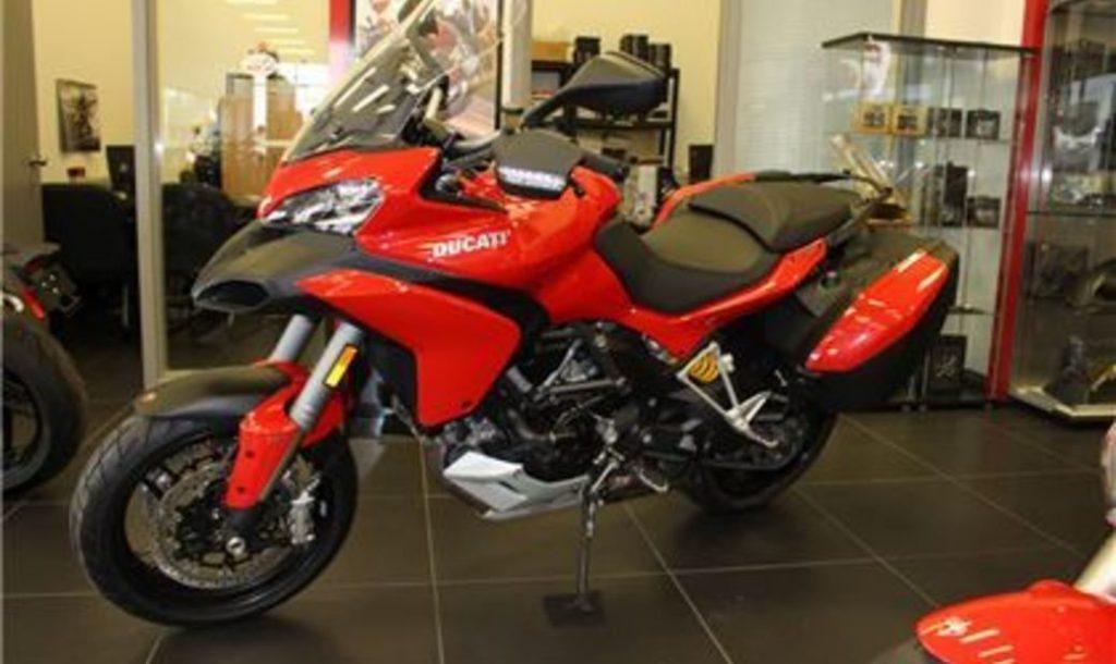2014 Ducati Multistrada 1200 S Touring