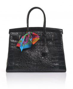Luxury Genuine Crocodile Handbag