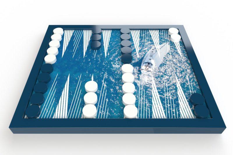 Luxury couture backgammon sets | Slaylebrity