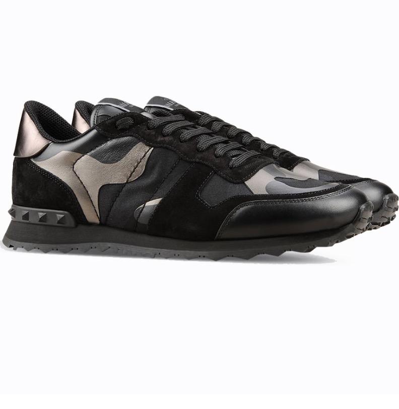 fbcecc9184ea5 Valentino Camouflage Rockrunner Sneaker | Slaylebrity