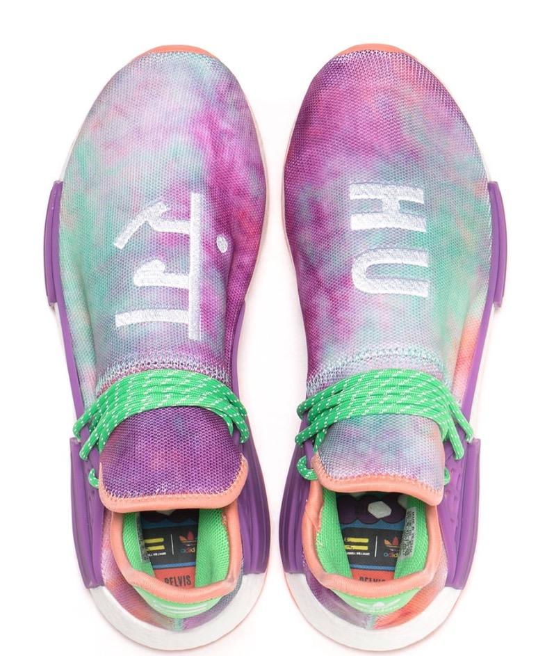 wholesale dealer c7ae0 f4051 Adidas Human Race Nmd Pharrell Holi Festival (Chalk Coral)   Slaylebrity