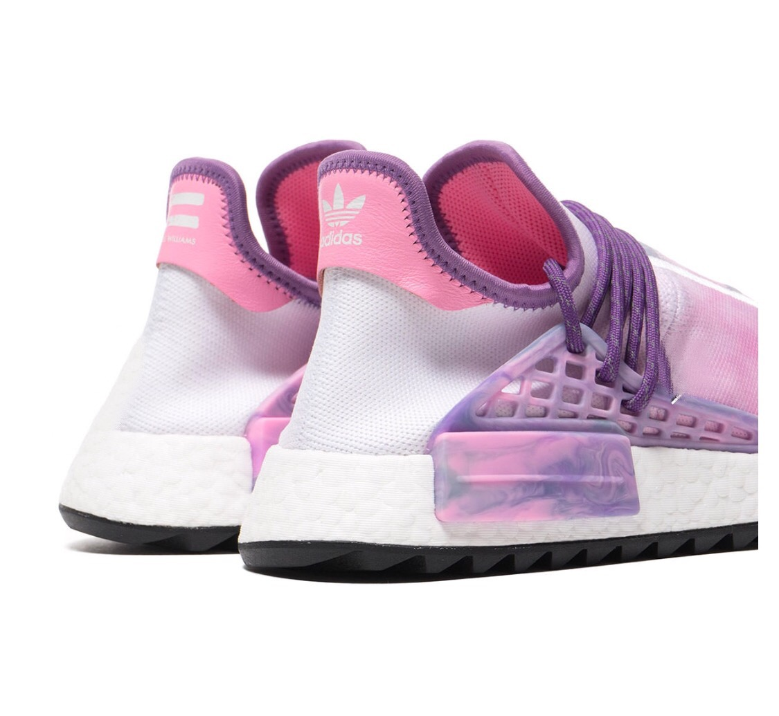 promo code 99479 81938 Adidas Human Race Nmd Pharrell Holi Festival (Pink Glow ...