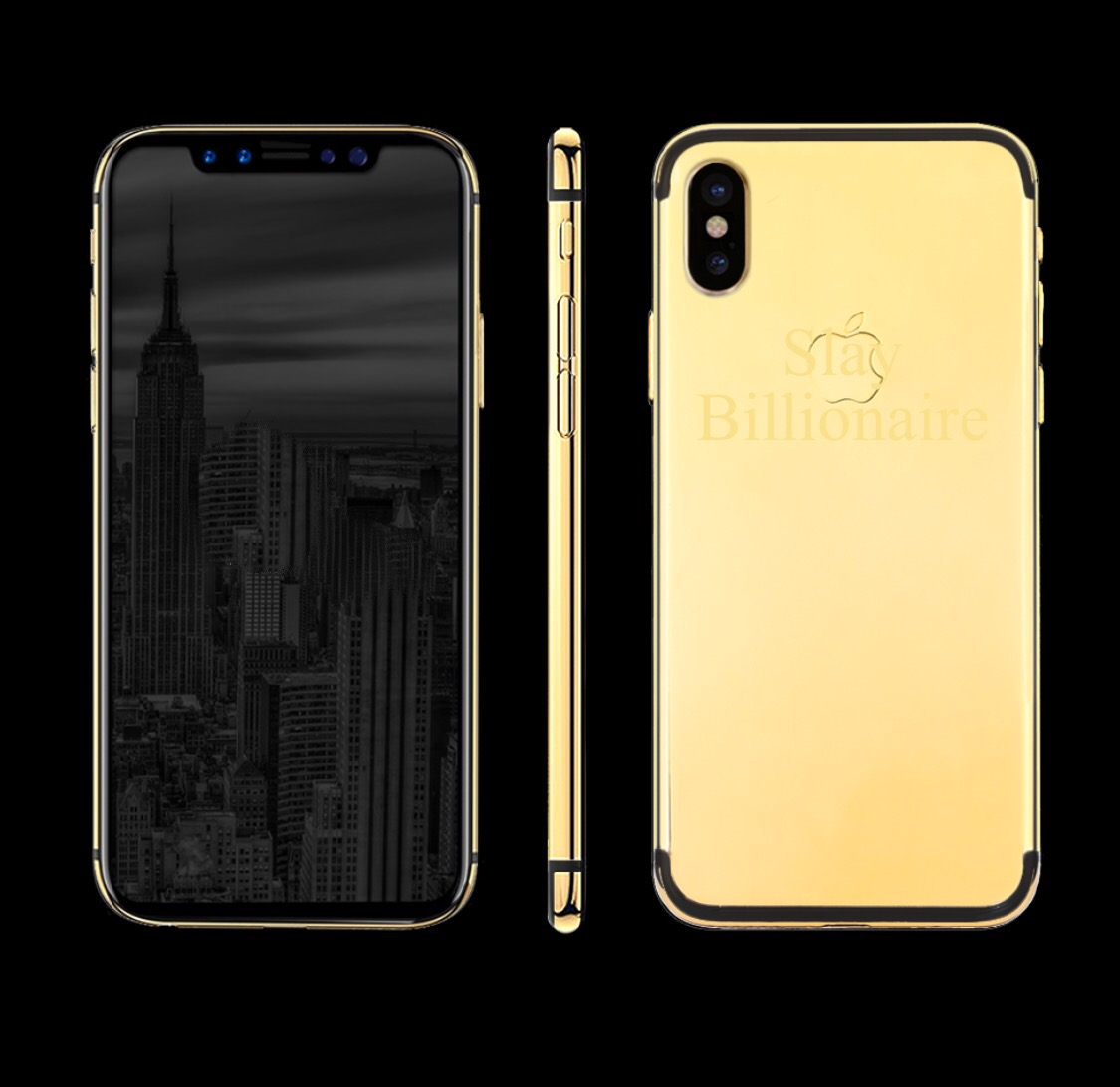 new product 392a6 5f790 24K Gold iPhone X | Slaylebrity