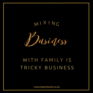 Here's Why you shouldn't mix business with family