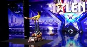 The most nail biting performance from Espana got talent
