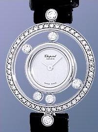 CHOPARD Women's Happy Diamond 20/3926 White Gold Watch