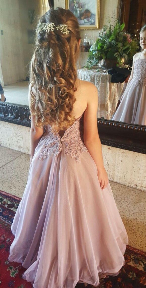 Fairytale flower girl dress