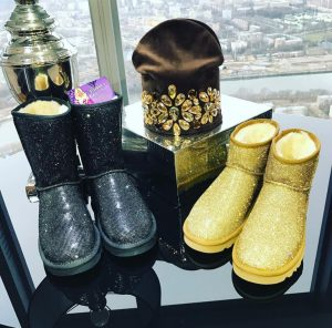 The most fabulous footwear is all about the bling