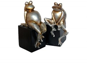 2 set frog decor