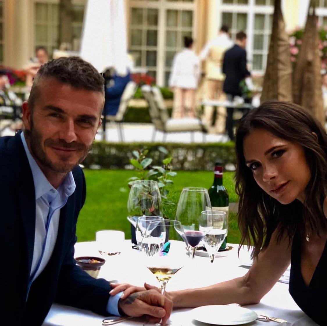 It's David and Victoria's 19th wedding anniversary