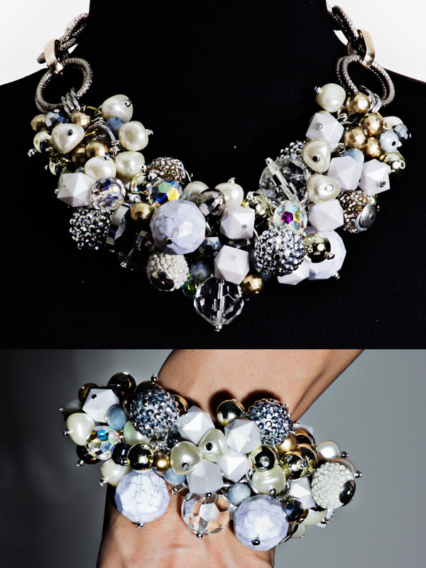 Handmade silver jewellery set | Lifestyle