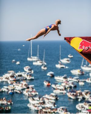 The art of cliff diving