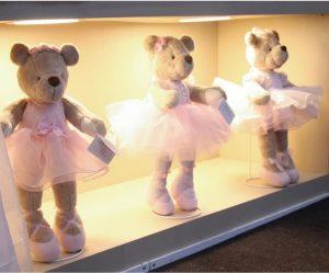 Ballerina luxury plush teddy bear