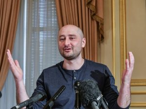 Russian journalist Arkady Babchenko faked his death to avoid assassination