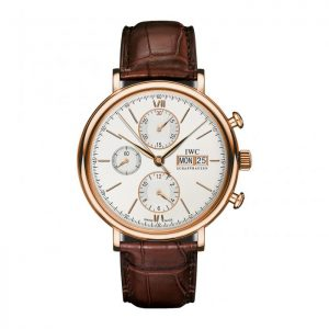 IWC Portofino Chronograph IW391020 Rose Gold Watch