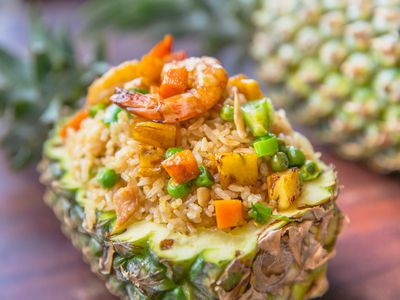 Thai Vegetarian Pineapple Fried Rice
