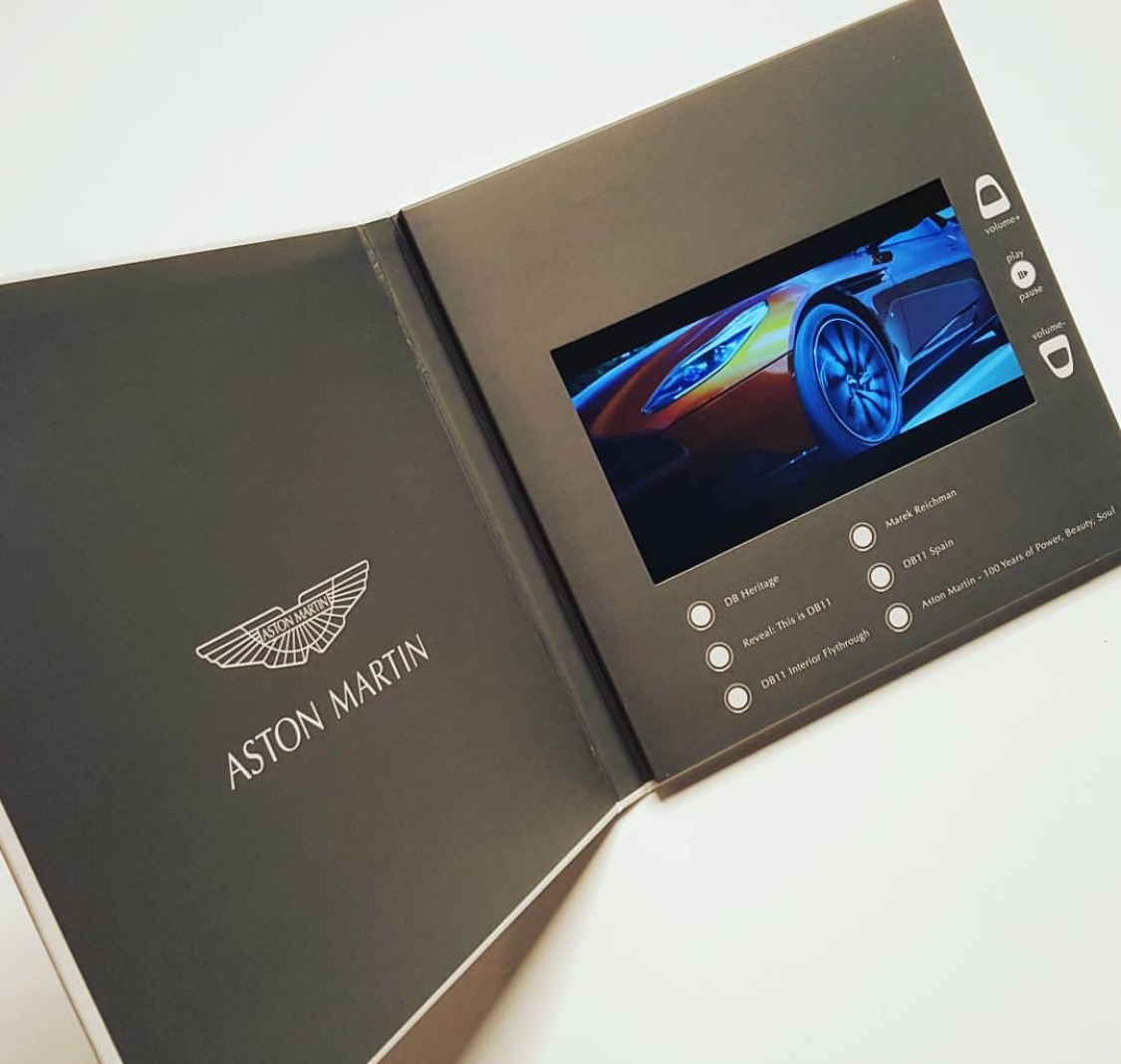Luxury video invitation cards, business cards and photo album