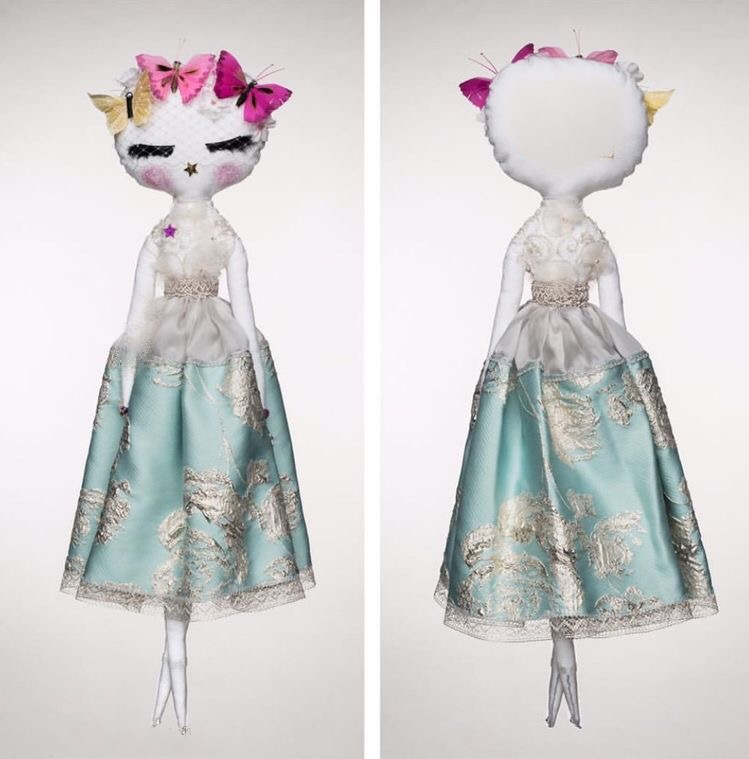 Luxury handmade heirloom doll