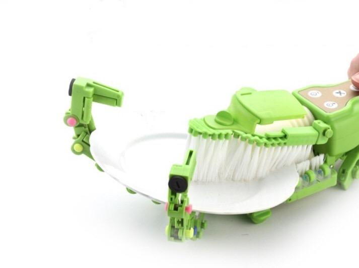Worlds coolest handheld robot dish scrubber