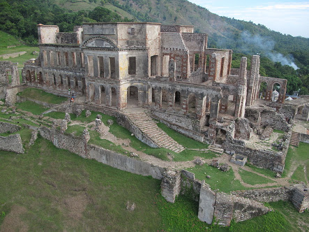 The Sans-Souci Palace