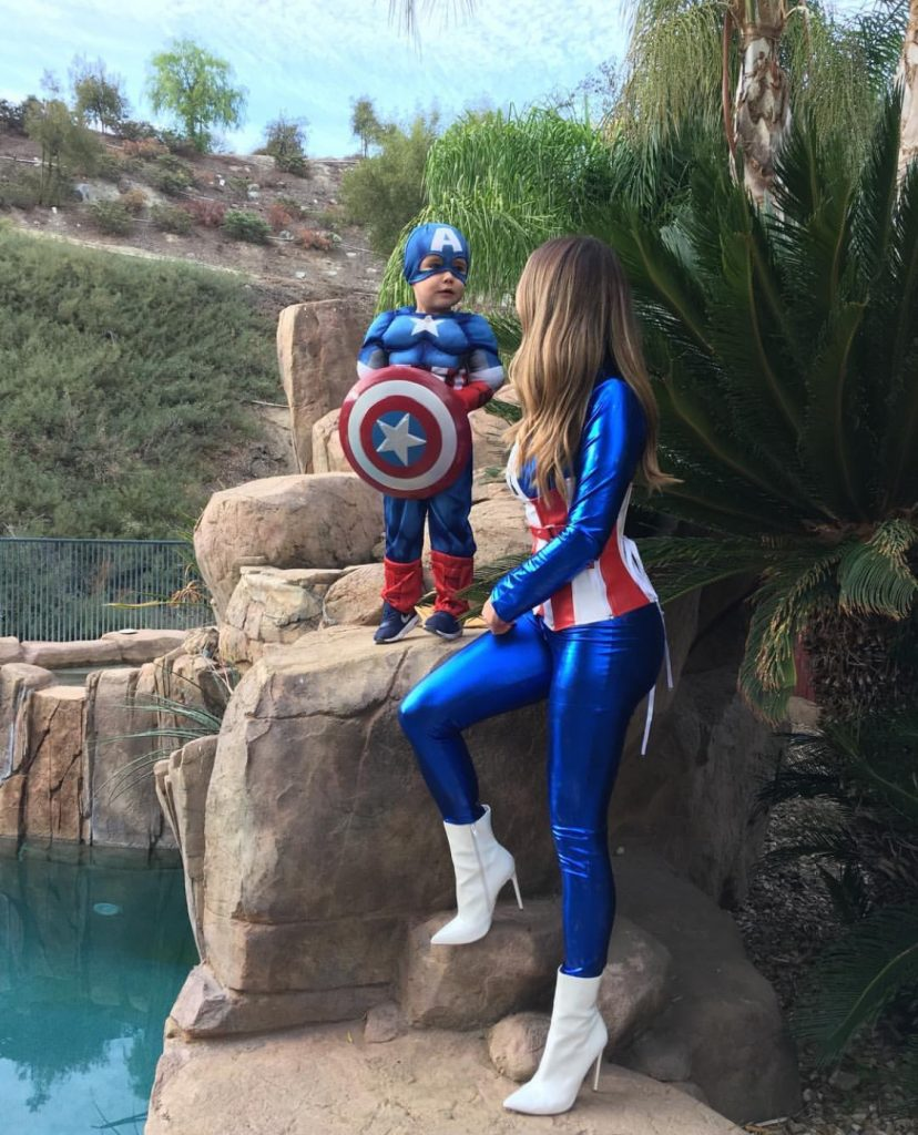 Mother Son superhero costume