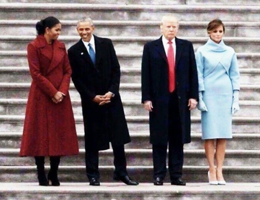 Are the Trumps Givers and the Obamas takers