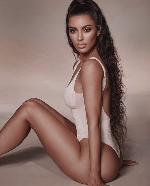 Kim Kardashian Laughed at Being Called Anorexic and The Internet Is Very Angry