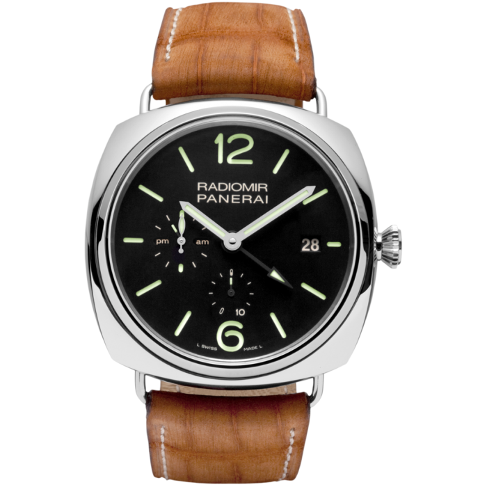 PANERAI Radiomir 10 Days GMT Automatic Acciaio PAM00323 Stainless Steel Watch PAM 323