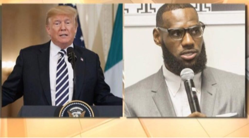 Trump tweet slams LeBron James and Don Lemon