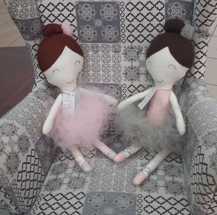 Duo luxury handmade dolls
