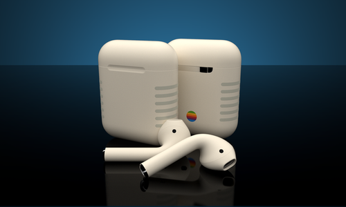 Custom Retro Air pods