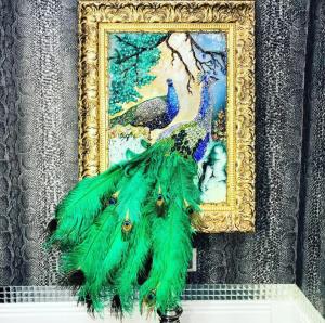 Peacock luxury art