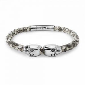 skull precious metals bracelet
