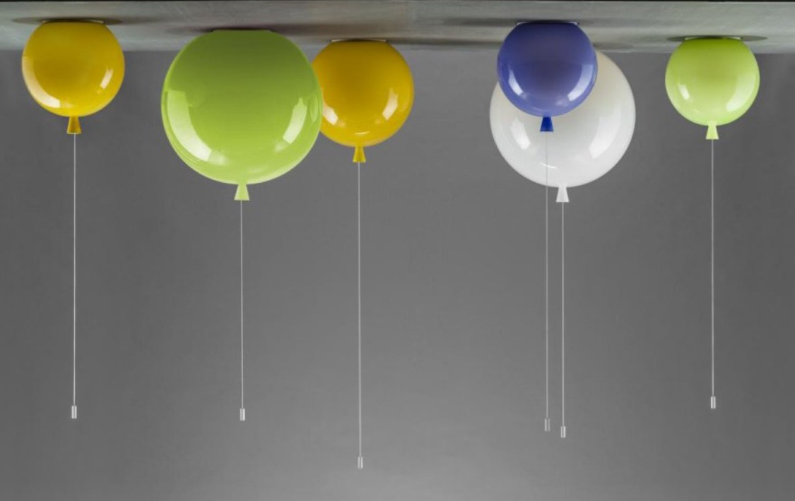 Balloon ceiling lamps
