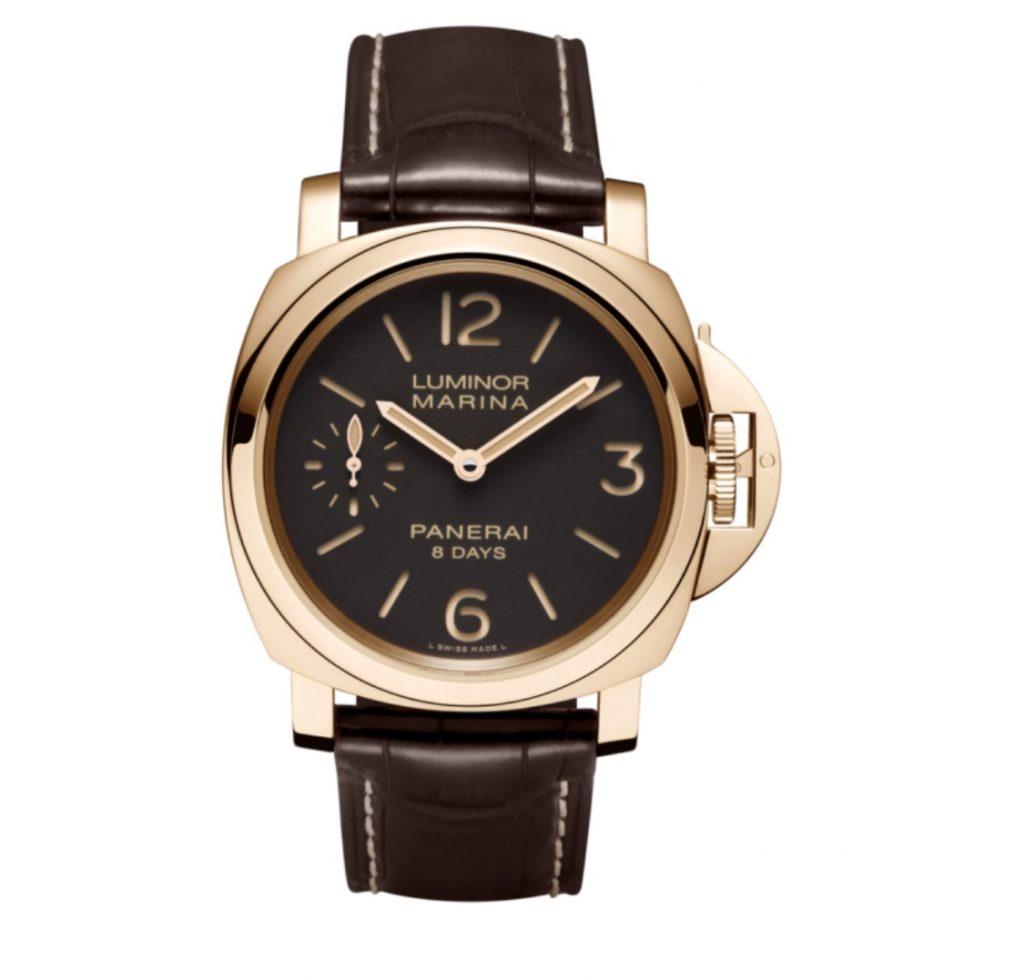 PANERAI Luminor Marina 8 Days Oro Rosso PAM00511 Rose Gold Watch PAM 511
