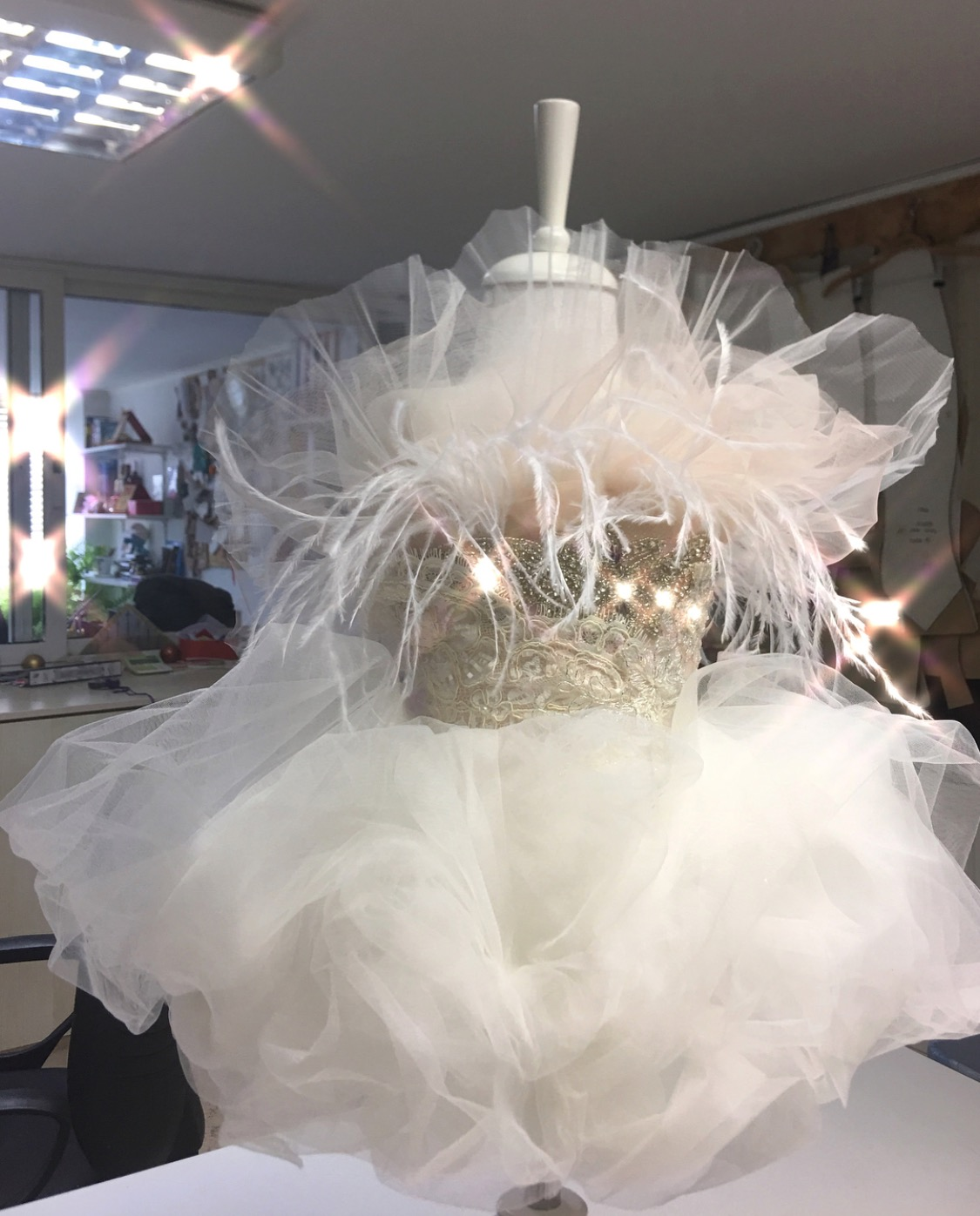 Fairytale kids couture gown