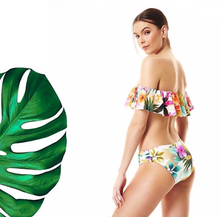 Tropical luxe swimwear