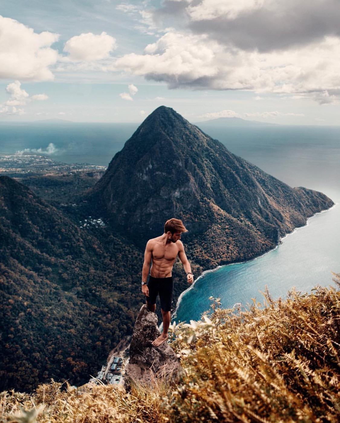 Sam Kolder jumps off a cliff in furore