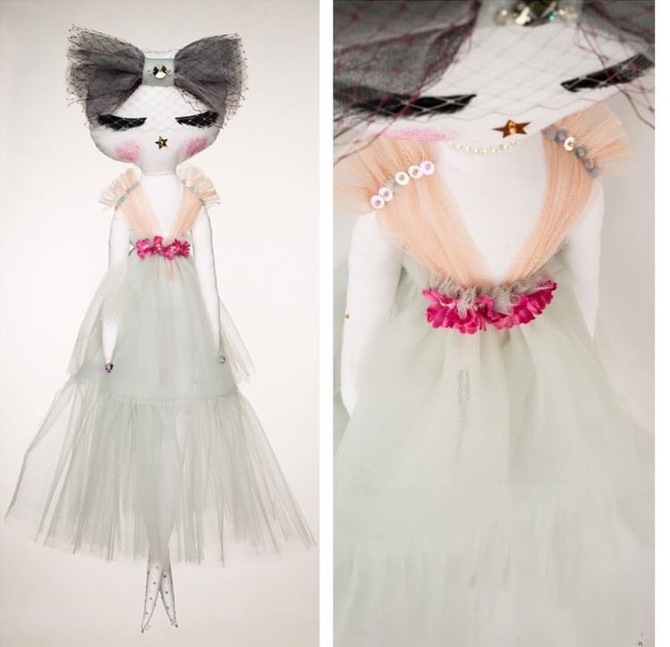 Couture luxury doll