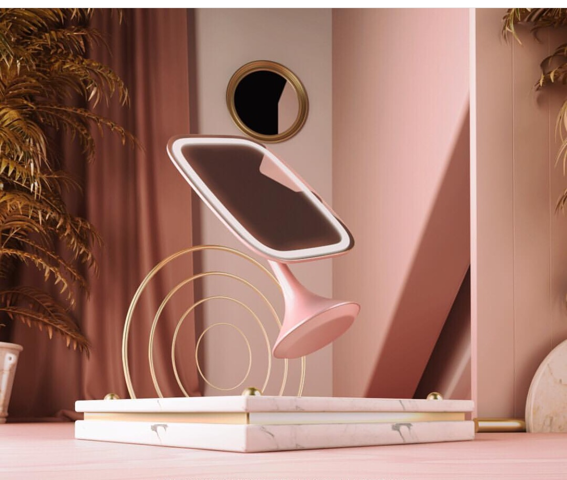 The worlds most luxurious vanity mirror ever