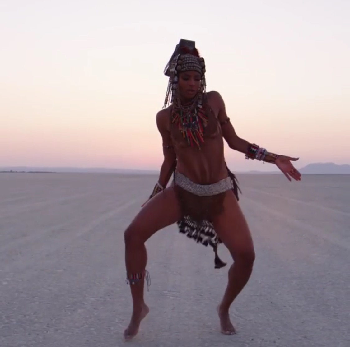 Ciara leverages on her African roots with her new single Freak Me ft techno