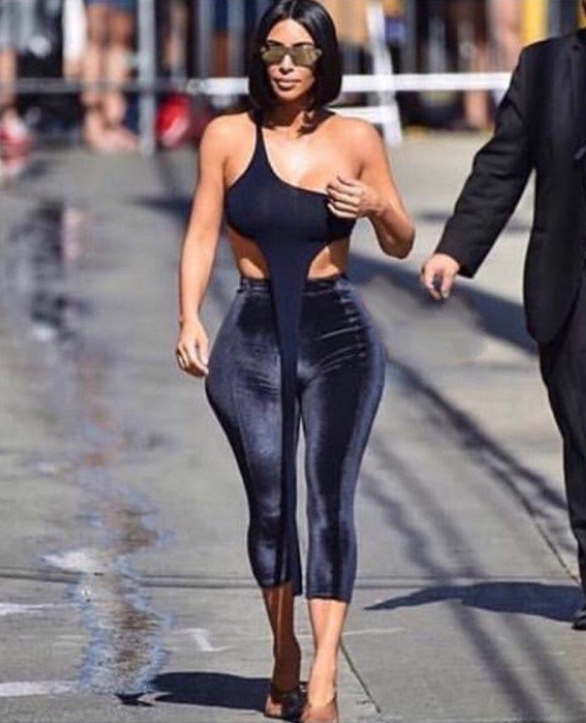 Kim Kardashian's comment about Tyson Bedford on Instagram lands her in twitter jail