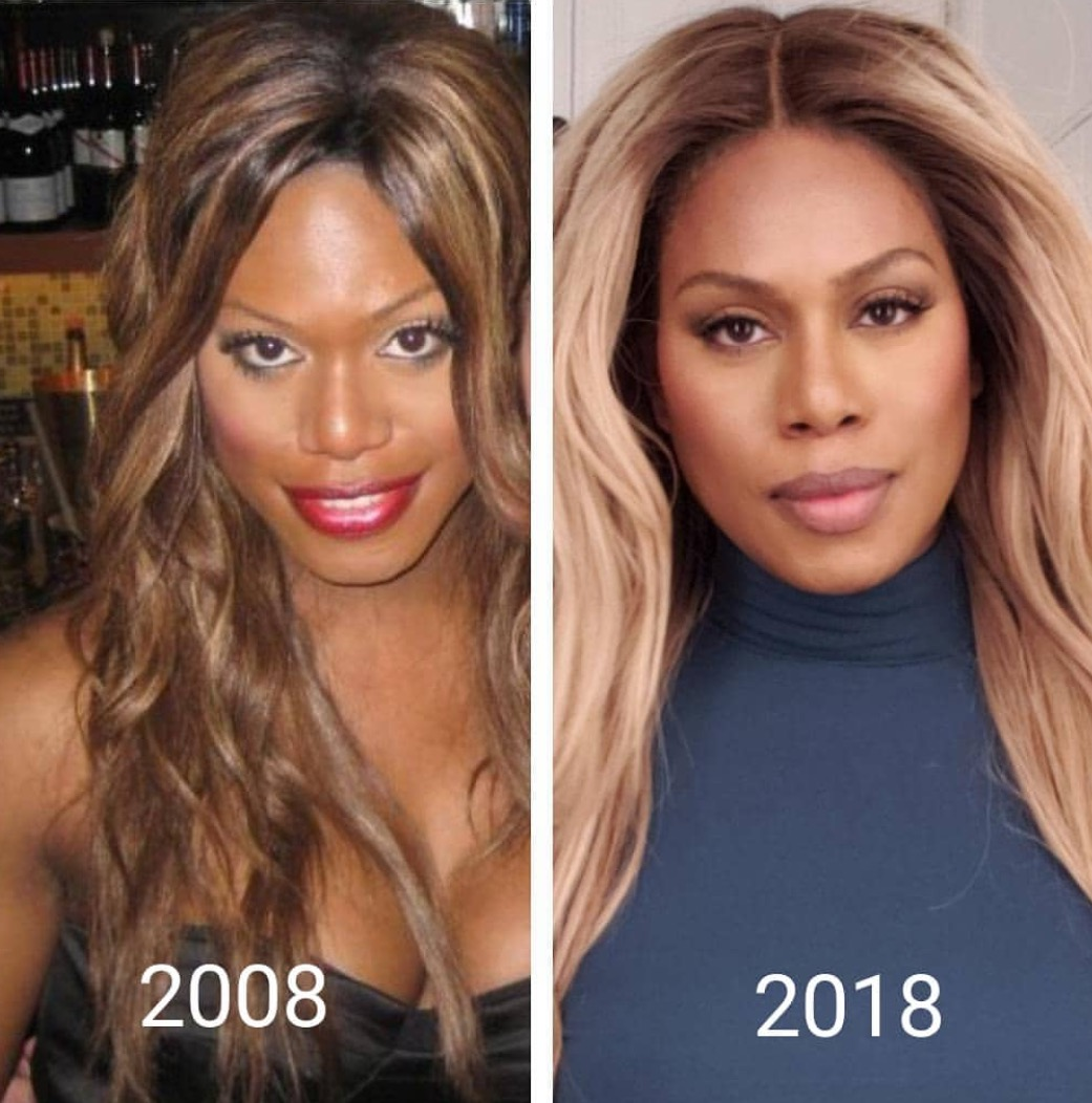Checkout Laverne Cox as she levels all the way up