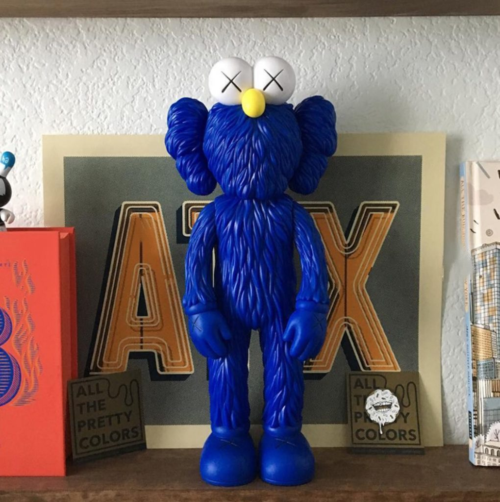 Kaws Bff Open Edition Vinyl Figure
