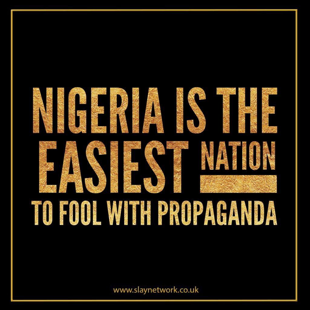 When will Nigerians Wake up