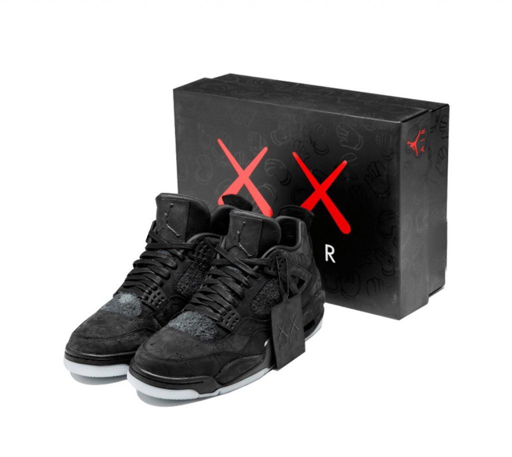 Jordan 4 Retro Kaws Black – Slaylebrity