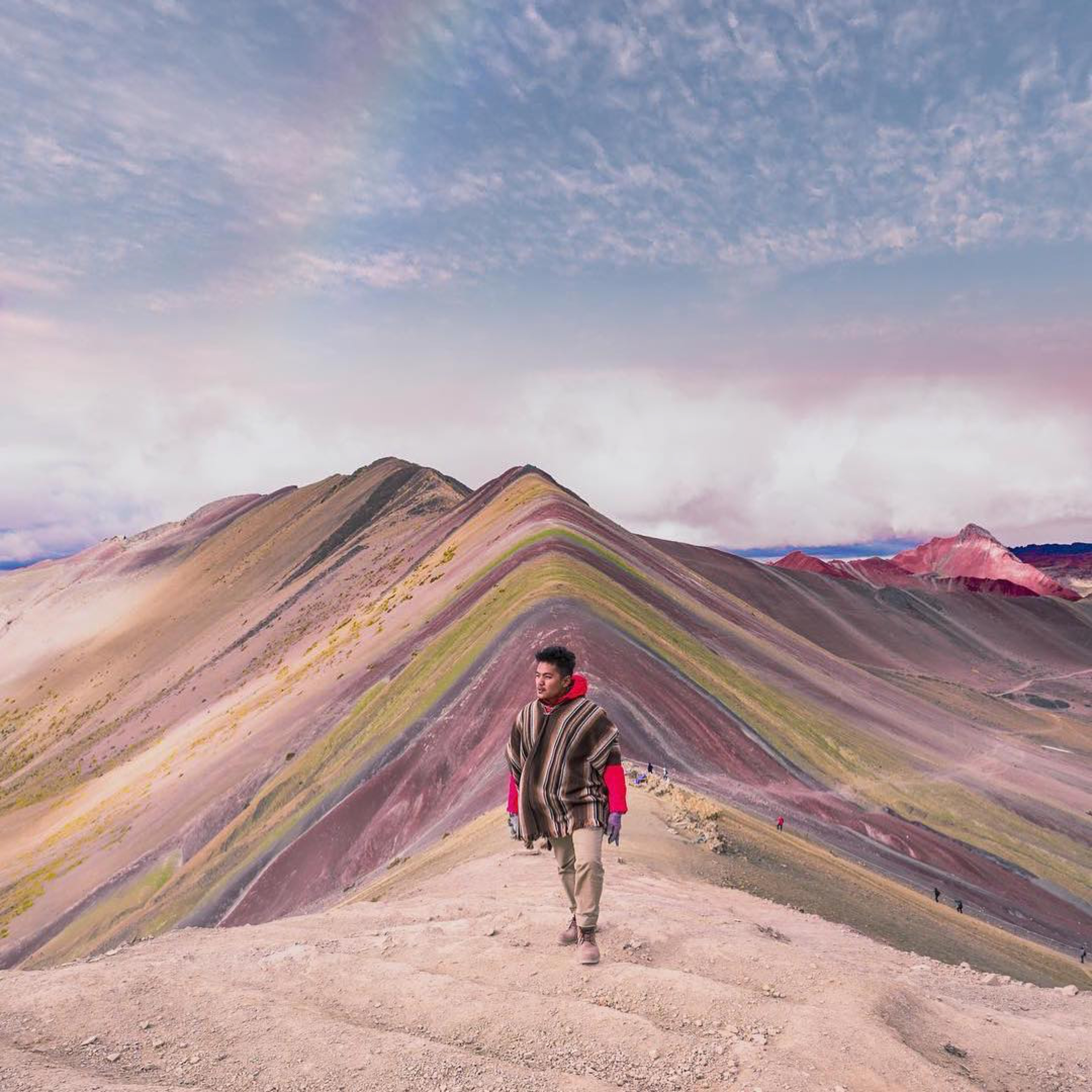 The not so glamorous side of Rainbow Mountain Peru